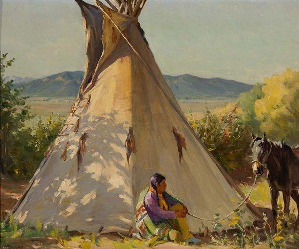 70: Joseph H. Sharp, 1859-1953