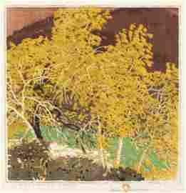 Gustave Baumann, Autumnal Glory, 1920, 1936