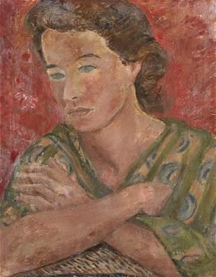 Agnes Martin, Portrait of Daphne Vaughn