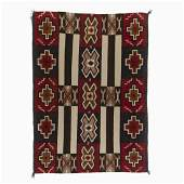A Navajo Red Mesa Second Phase Variant Chief's Blanket,
