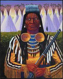 David Bradley, Crow Warrior, 1994