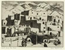Gene Kloss, South House - Taos Pueblo, 1941