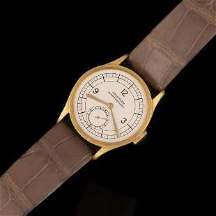 Vacheron & Constantin Gold Wristwatch with Sector Dial