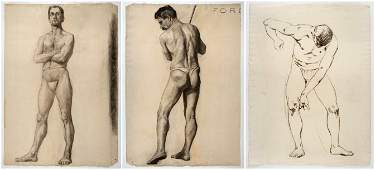 Walter Ufer, Three Drawings
