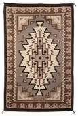 Diné [Navajo], Two Grey Hills Textile, ca. 2000
