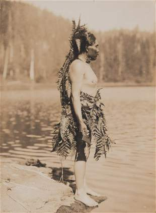 Edward Curtis, Ceremonial Preparation for Whaling, 1915