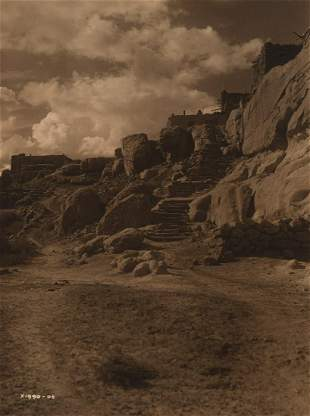 Edward Curtis, The Trail to Shipaulovi, 1906