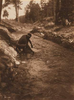 Edward Curtis, Straight to Him Drifted the Bluebirds