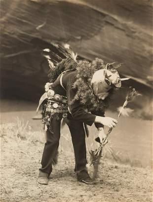 Edward Curtis, Gánaskidi - Navaho, 1904