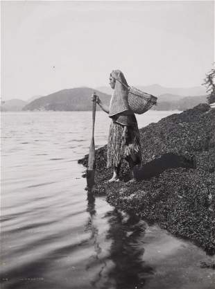 Edward Curtis, The Seaweed Gatherer, 1915