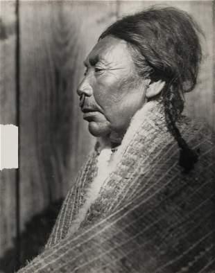 Edward Curtis, Koskimo Woman (Crop Variant), 1914