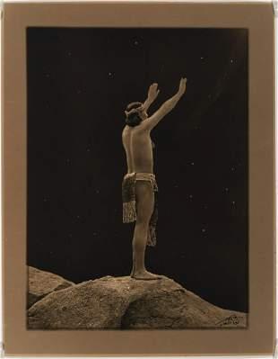 Edward Curtis, Prayer to the Stars, ca. 1909