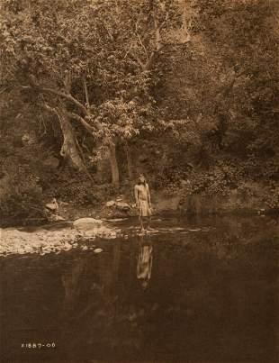 Edward Curtis, The Pool - Apache, 1906