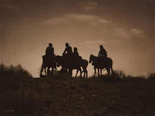 Edward Curtis, Sunset in Navaho Land, 1904