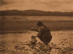 Edward Curtis, In the Gray Morning - San Ildefonso,
