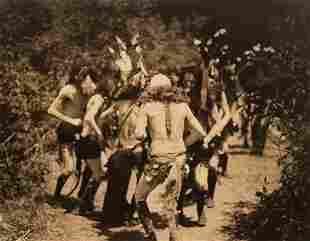 Edward Curtis, Yebichai Dancers - Navaho, 1906