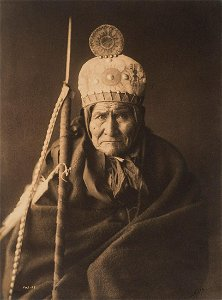Edward Curtis, Geronimo - Apache, 1905