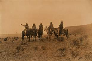 Edward Curtis, The Lost Trail - Apache, 1907