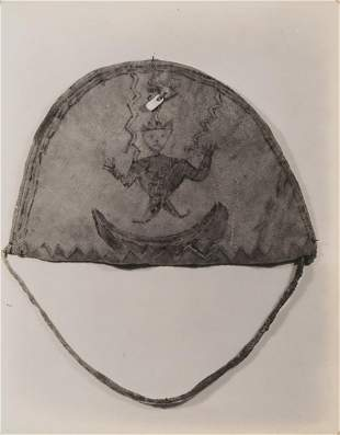 Edward Curtis, Untitled (Apache Medicine Cap), 1907