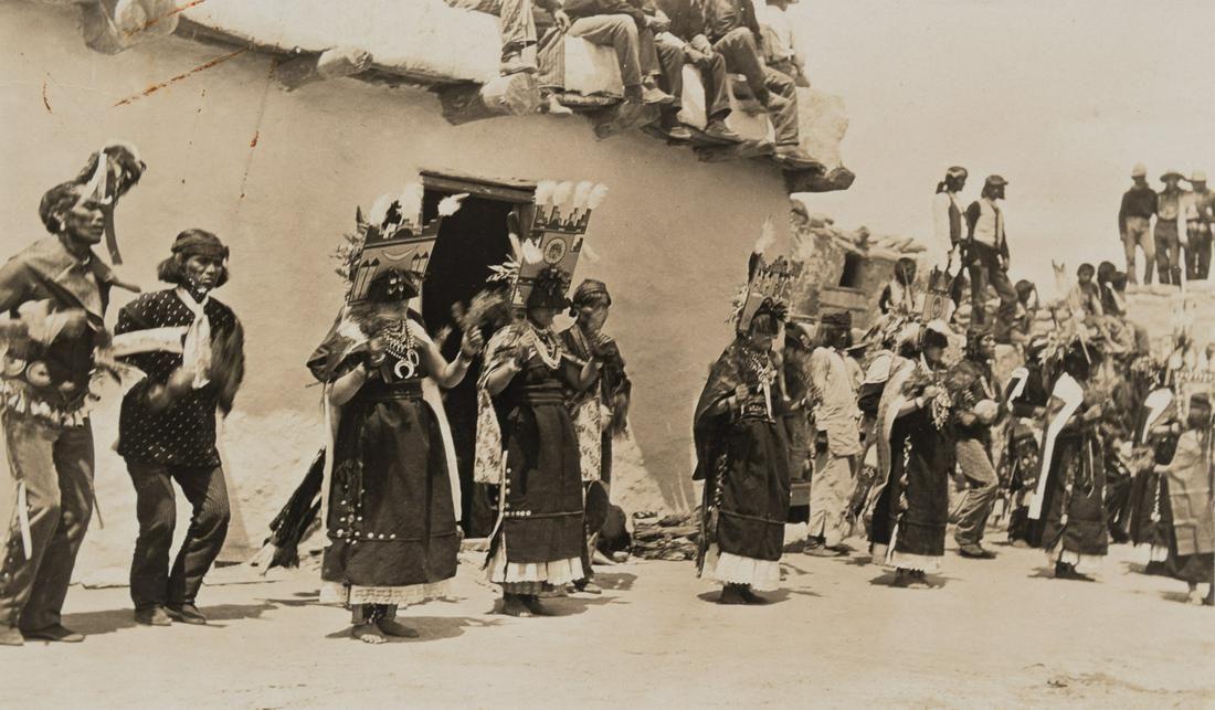 Edward Curtis, Untitled (Tablita Dancers), ca. 1905
