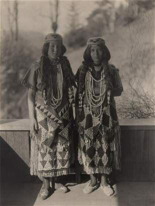 Edward Curtis, Untitled (The Lopez Girl - Smith River)