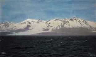 Edward Curtis, Fairweather Range and La Perouse Glacier