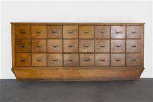 American, Multi-Drawer Mercantile Cabinet, Early 20th