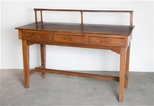 American, Standing Wooden Desk, ca. 1940
