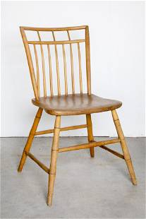 American, Spindleback Chair, Early 20th Century