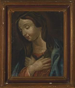 Mexico or South America, Retablo of Nuestra Señora,