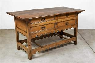 Spanish Colonial, Mexico, Table, Late 18th Century
