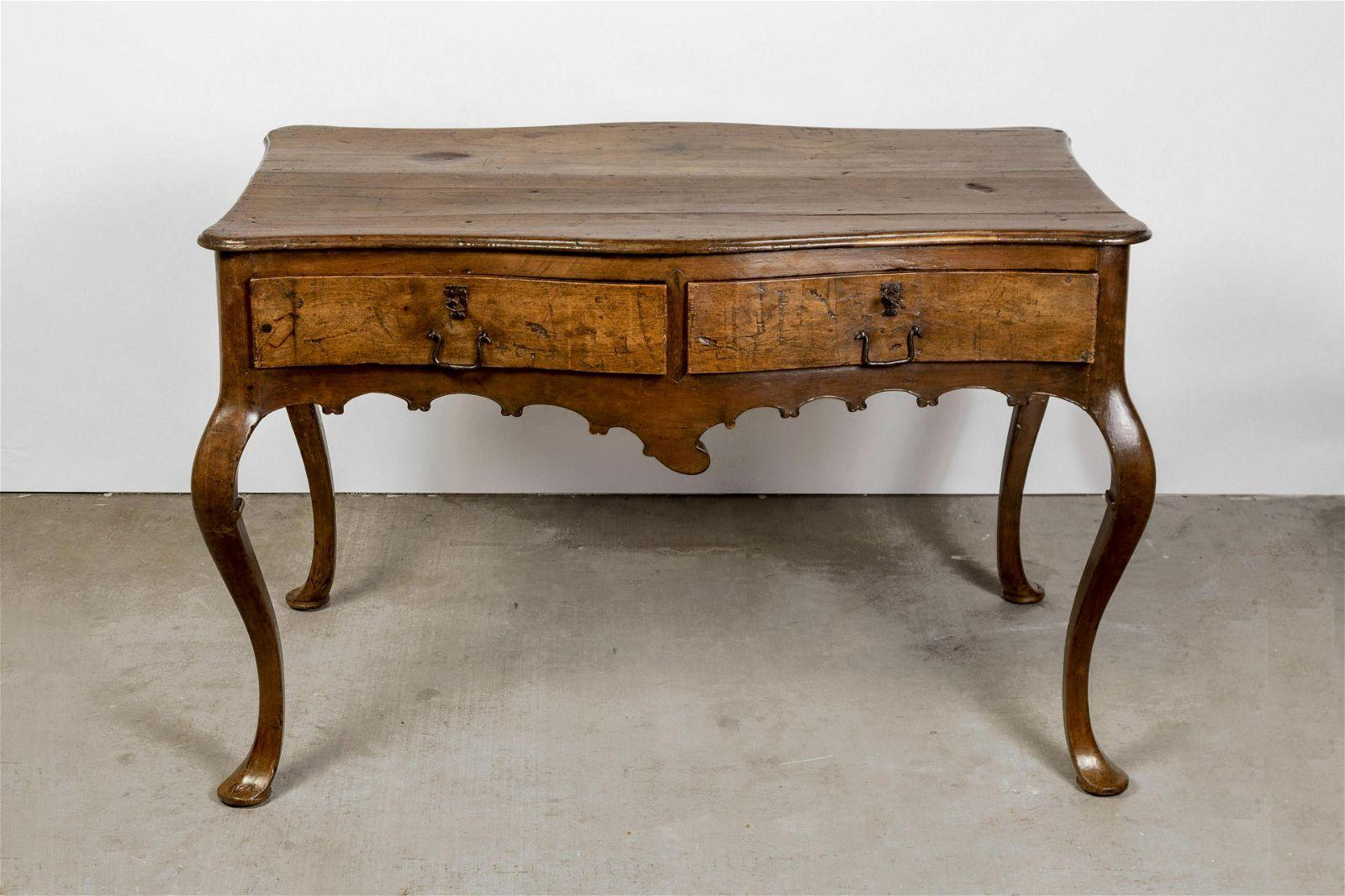 Spanish Colonial, Peru, Wood Writing Table