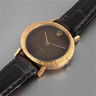 Rolex, Yellow Gold Cellini Wristwatch, ca. 1975