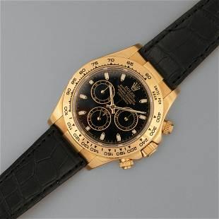 Rolex, Yellow Gold Ref. 116518 Daytona Chronograph