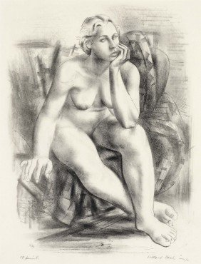WILLARD NASH, Female Nude