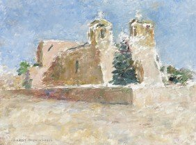 CHARLES BERNINGHAUS, Ranchos Church