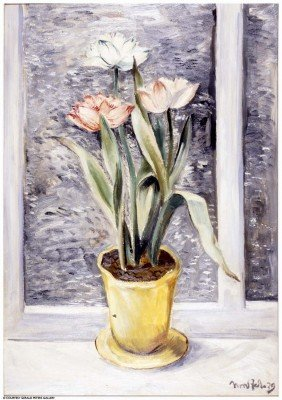BROR J.O. NORDFELDT, Double Tulips, 1939