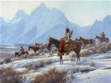 46 MARTIN GRELLE Apsaalooka Horse Hunters 2008
