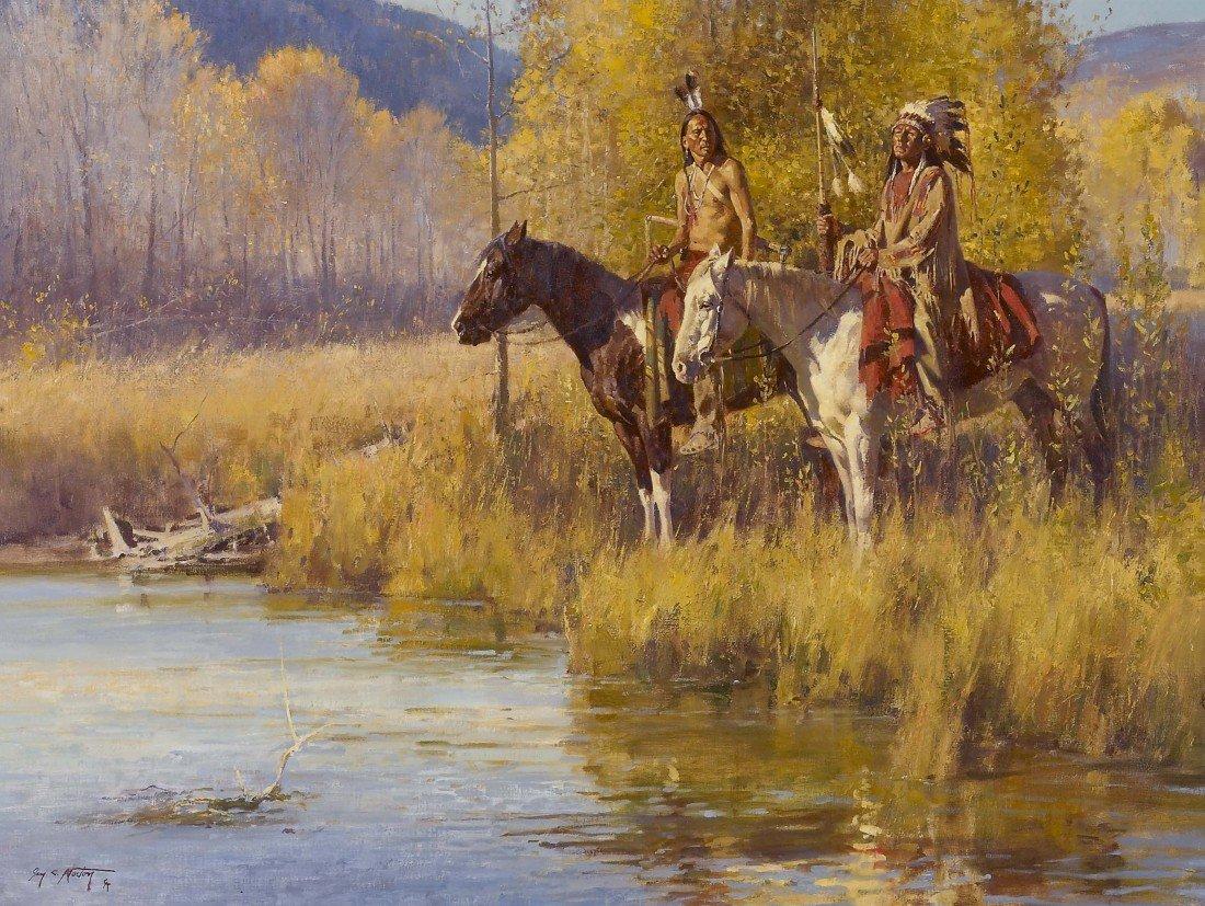75: JIM NORTON, Fall on the Spanish Fork, 2003