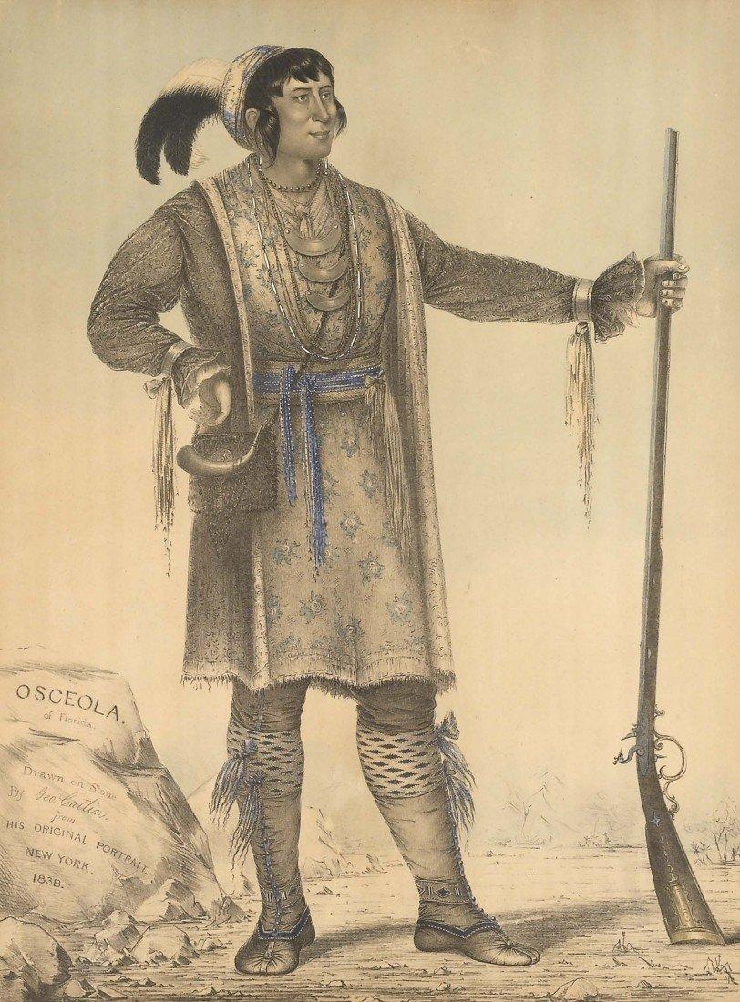 78: GEORGE CATLIN, Osceola of Florida, 1838