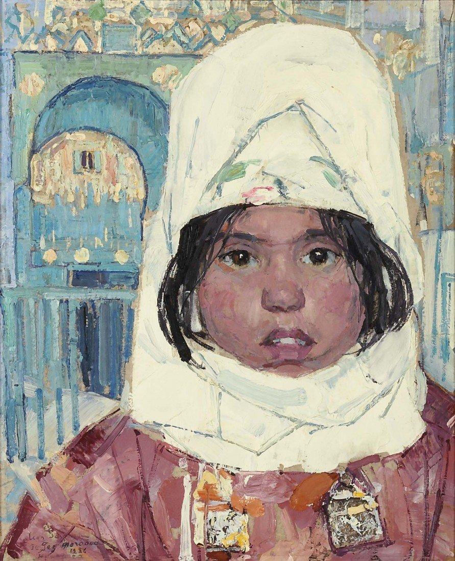 82: LEON GASPARD, Tuareg Girl, 1926