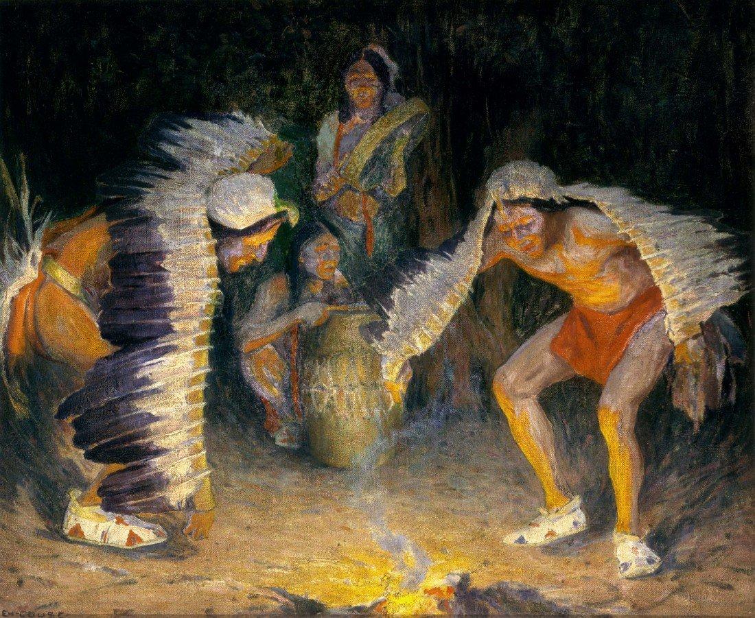87: E. IRVING COUSE, The Eagle Dance