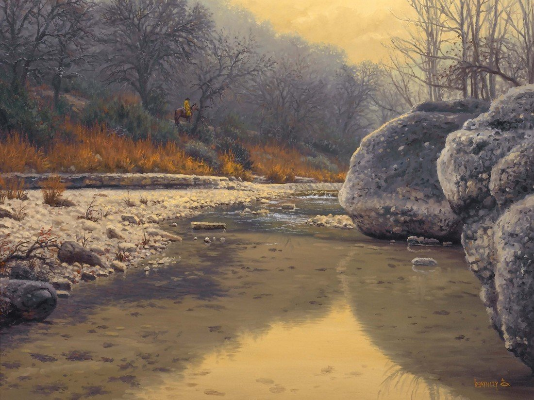 91: MARK KEATHLEY, Silent Search, ca. 1993