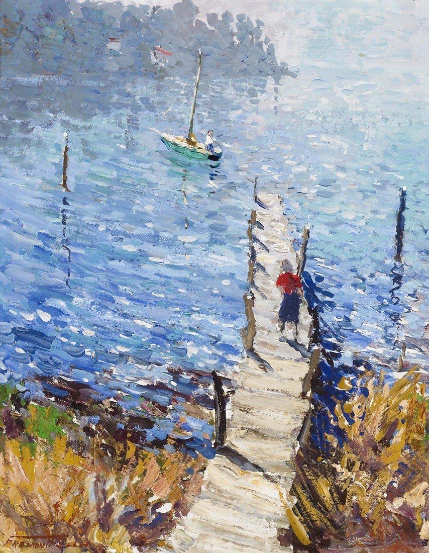 93: FREMONT ELLIS, Old Dock, Bayfield, 1961