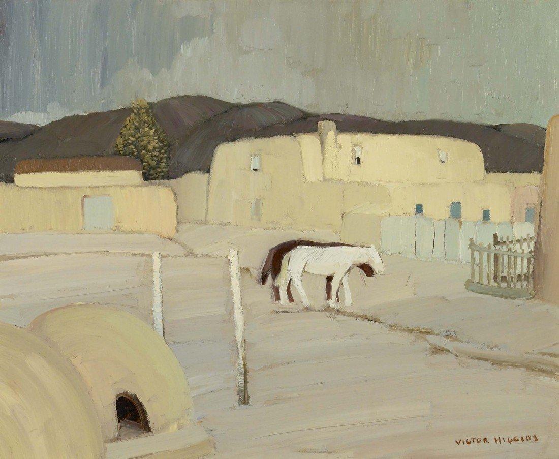 121: VICTOR HIGGINS, White Horse