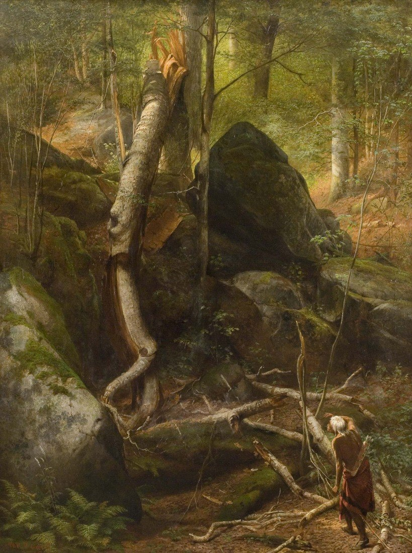 135: WILLIAM HOLBROOK BEARD, The Fallen Landmark, 1872