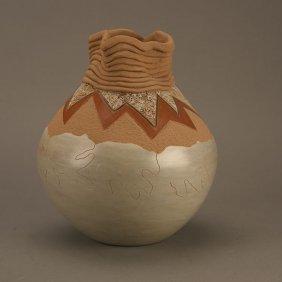 11: Russell Sanchez (b.1963), Untitled Pot