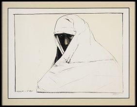 12: Leonard Baskin (1922-2000), A Cheyenne Woman in the