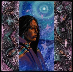 14: Peterson Yazzie (b.1979), Moonlight Beauty