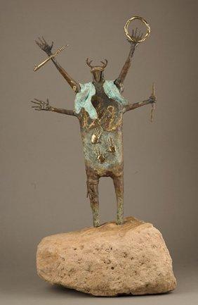 18: Bill Worrell (b.1936), Masked Cape Shaman, 4/50